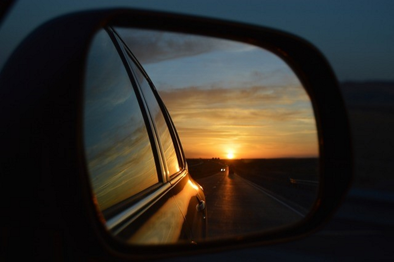 Rearview Mirror New Year 2020 -2019 Christmas The Year 2016. Through the rear view mirror. | ENITED